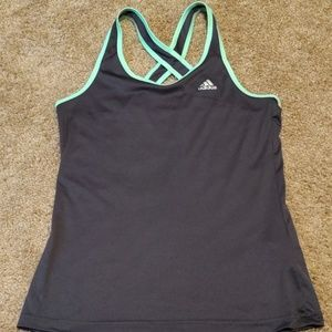 Adidas climalite tank top size med